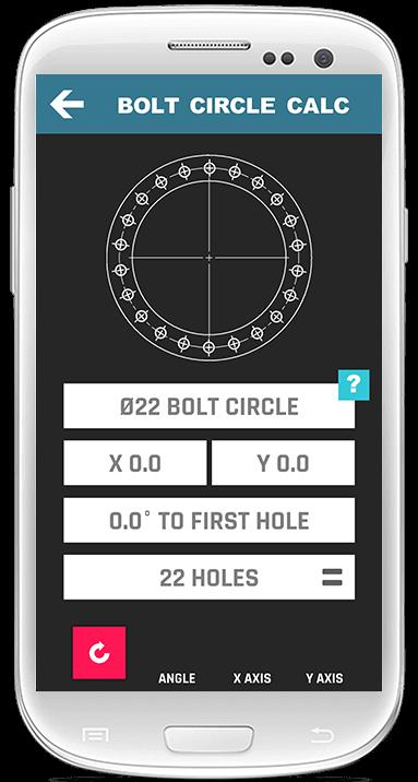 Bolt Hole Calculator